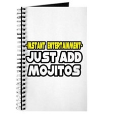 """Entertainment: Add Mojitos"" Journal"
