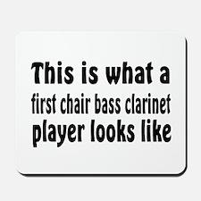 Bass Clarinet Mousepad