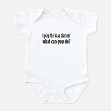 Bass Clarinet Infant Bodysuit