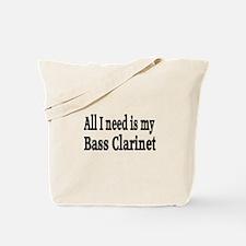 Cute Bass clarinet Tote Bag