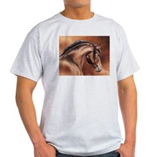 Andalusian Stallion #1 Ash Grey T-Shirt