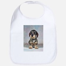 Wirehaired Dachshund Bib