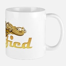 Gold qualified dolphins Mug