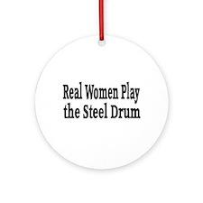 Steel Drum Ornament (Round)