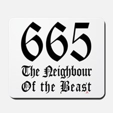 665 Neighbour Mousepad
