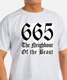 665 Neighbour Ash Grey T-Shirt