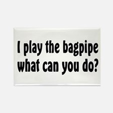 Bagpipe band Rectangle Magnet