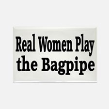 Funny Bagpipe band Rectangle Magnet