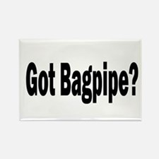 Cool Bagpipe band Rectangle Magnet