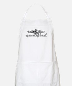 Qualified Silver Dolphins BBQ Apron