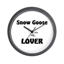Snow Goose Lover Wall Clock