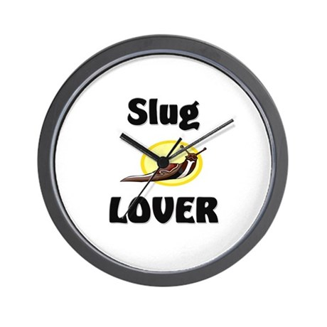 Slug Lover Wall Clock