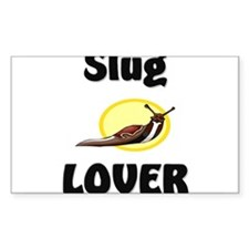 Slug Lover Rectangle Decal