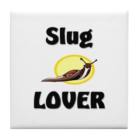 Slug Lover Tile Coaster