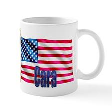 Cara USA Flag Gift Small Mug