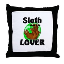 Sloth Lover Throw Pillow