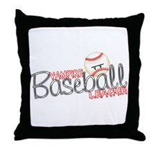 Vampire Baseball League- Twil Throw Pillow