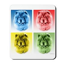 Chow Chow Pop Art Mousepad