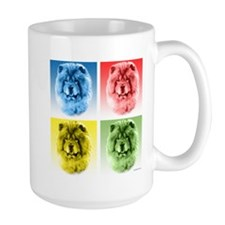Chow Chow Pop Art Mug