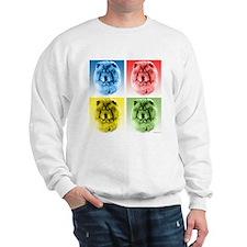 Chow Chow Pop Art Sweatshirt