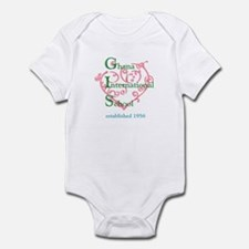 GIS Heart Infant Bodysuit