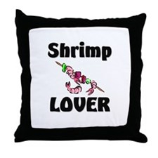 Shrimp Lover Throw Pillow