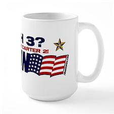 Bush 3 vs Carter 2 Coffee Mug