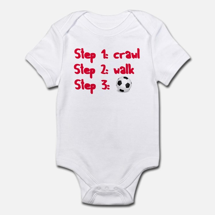 Soccer: Step 3 Infant Bodysuit