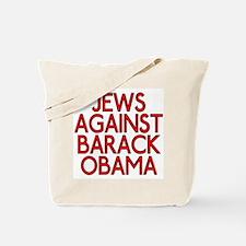 Jews against Barack Obama (canvas tote bag)