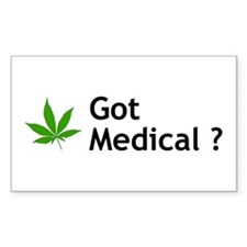 Got Medical? Rectangle Decal