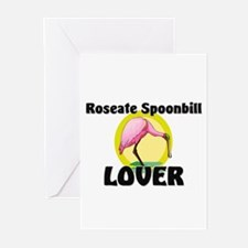 Roseate Spoonbill Lover Greeting Cards (Pk of 10)