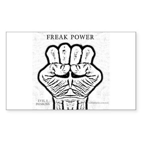 Freak Power Gonzo HST Rectangle Sticker 50 pk)