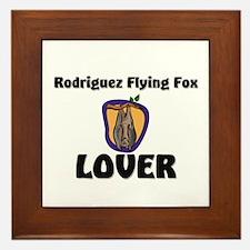 Rodriguez Flying Fox Lover Framed Tile