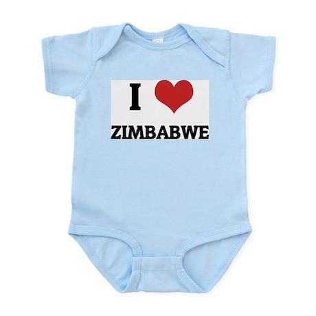I Love Zimbabwe Infant Creeper