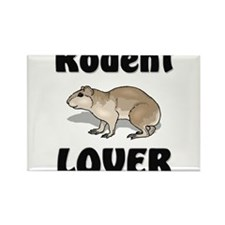 Rodent Lover Rectangle Magnet