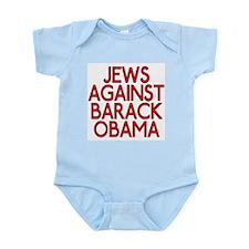 Jews against Barack Obama (infant bodysuit)