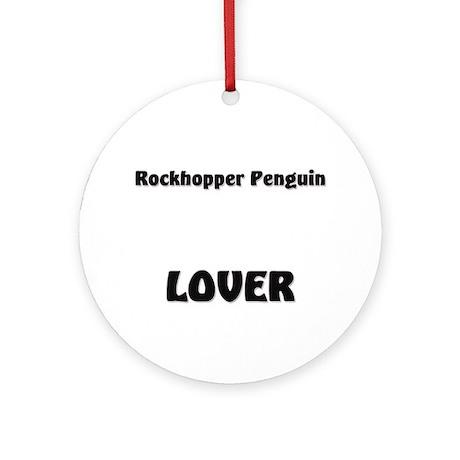 Rockhopper Penguin Lover Ornament (Round)
