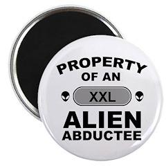Alien Abductee Magnet