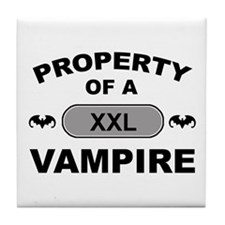 XXL Vampire Tile Coaster