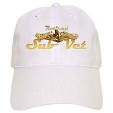 retired sub vet Gold Baseball Cap