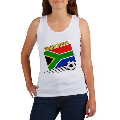 South Africa Soccer Team Women's Tank Top