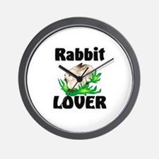 Rabbit Lover Wall Clock