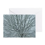 Crystal Branches Greeting Card