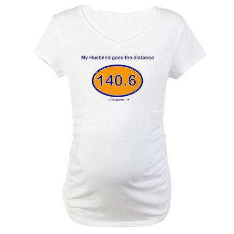 140.6 Distance Husband Maternity T-Shirt