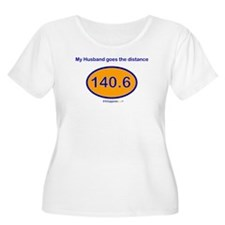140.6 Distance Husband T-Shirt