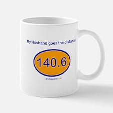 140.6 Distance Husband Mug