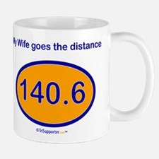 140.6 Distance Wife Mug