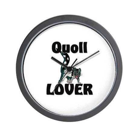 Quoll Lover Wall Clock