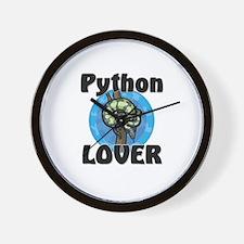 Python Lover Wall Clock
