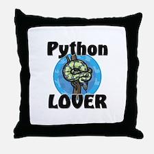 Python Lover Throw Pillow